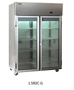 Delfield Scientific LAR3C-G Full Size Medical Refrigerator - Access Ports, 115v