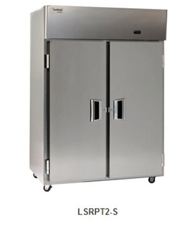 Delfield Scientific LARPT2-S Full Size Medical Refrigerator - Pass-thru, 115v