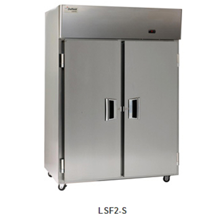 "Delfield Scientific LSF1-S 29"" Single Section Reach-In Freezer, ( 1) Solid Door, 115v"