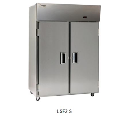 "Delfield Scientific LSF2-S 56"" Two Section Reach-In Freezer, (2) Solid Doors, 115v"