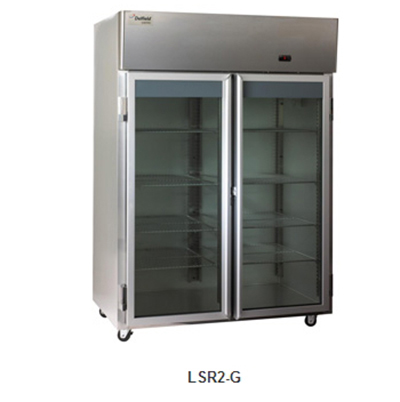 Delfield Scientific LSR1-G Full Size Medical Refrigerator - Access Ports,115v