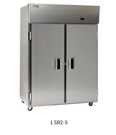 Delfield Scientific LSR1-S Full Size Medical Refrigerator - Access Ports, 115v