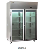 Delfield Scientific LSR2C-G Full Size Medical Refrigerator - Access Ports, 115v