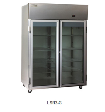 Delfield Scientific LSR2-G Full Size Medical Refrigerator - Access Ports, 115v