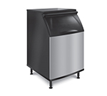 "Koolaire K-570 30"" Wide 430-lb Ice Bin with Lift Up Door"