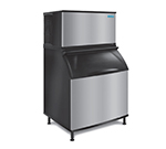 Koolaire KY-1350A 261 Cube Style Ice Kube Machine - 1350-lb Production/24hr, Stainless