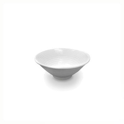 Elite Global Solutions D1005RR-W 14-oz Pebble Creek Bowl - Melamine, White