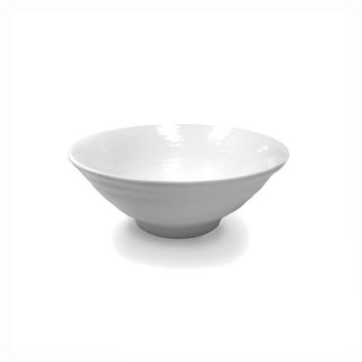 Elite Global Solutions D1007RR-W 24-oz Pebble Creek Bowl - Melamine, White