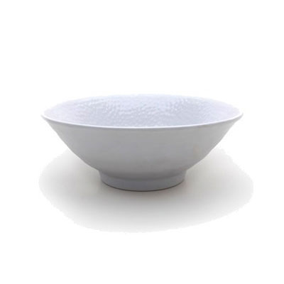 Elite Global Solutions D1008RR-W 40-oz Pebble Creek Bowl - Melamine, White