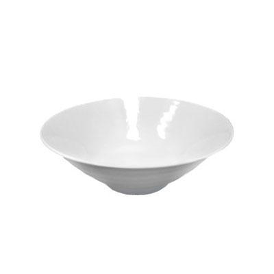 Elite Global Solutions D1010RR-W 55-oz Pebble Creek Bowl - Melamine, White
