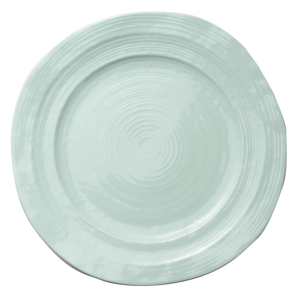 "Elite Global Solutions D101-MG 10"" Round Della Terra Plate - Melamine, Mint Green"