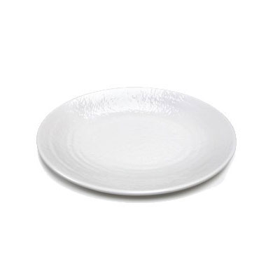 "Elite Global Solutions D107RR-W Pebble Creek Oval Platter - 10.25"" x 7.75"", Melamine, White"
