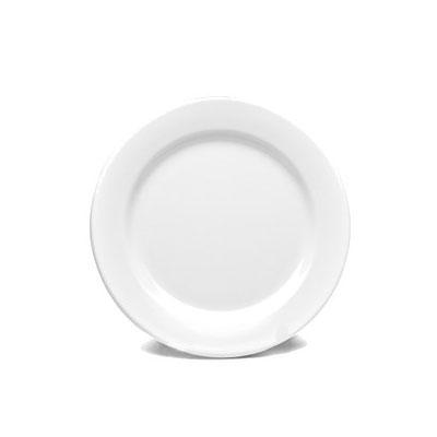 "Elite Global Solutions D775PL-W 7.75"" Merced Plate - Melamine, White"