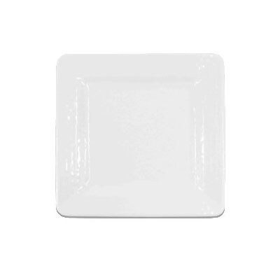 "Elite Global Solutions D7SQRR-W 7"" Pebble Creek Plate - Melamine, White"