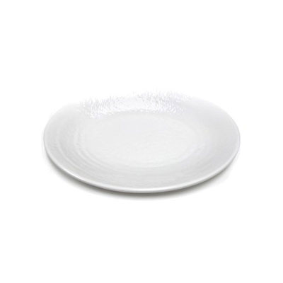 "Elite Global Solutions D812RR-W Pebble Creek Oval Platter - 12.75"" x 8.75"", Melamine, White"