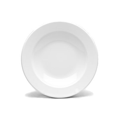 Elite Global Solutions D878PB-W 12-oz Merced Pasta/Soup Bowl - Melamine, White