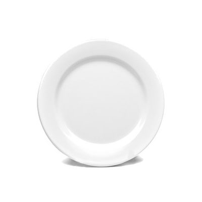 "Elite Global Solutions D9PL-W 9"" Merced Plate - Melamine, White"