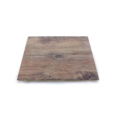 "Elite Global Solutions M10-DW 10"" Square Fo Bwa Meta Riser - Melamine, Faux Driftwood"