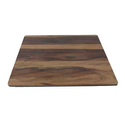 "Elite Global Solutions M10-HW 10"" Square Fo Bwa Meta Riser - Melamine, Faux Hickory Wood"