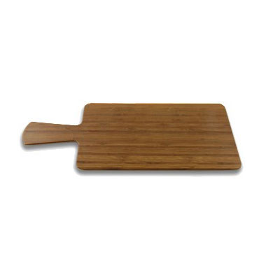 "Elite Global Solutions M127RC-BB Rectangular Serving Board - 12"" x 7"", Melamine, Faux Bamboo"