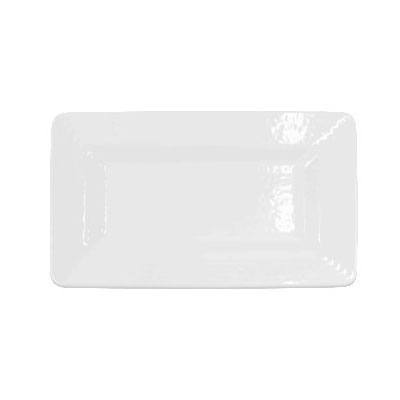 "Elite Global Solutions M915RR-W Rectangular Serving Tray - 15"" x 9"", Melamine, White"
