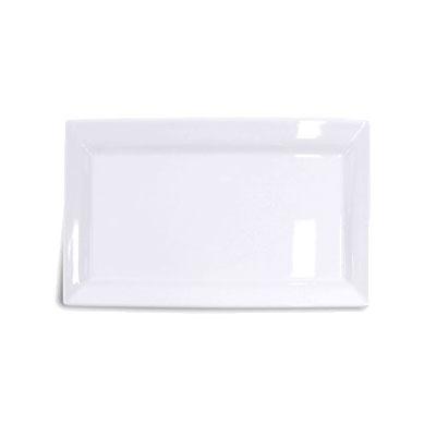 """Elite Global Solutions Q2-V1710 Rectangular Vogue Serving Platter - 17.25"""" x 10.5"""", Melamine, White"""