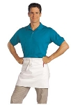 Chef Revival 607BA2-WH Bistro Apron, Heavyweight 50/50 Twill, 28 x 34-in, White