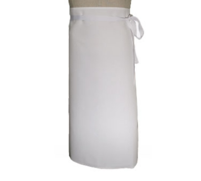 Chef Revival 402WA Bistro Waist Apron, 2-Sided, 30 x 33-in, White
