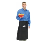 Chef Revival 607BA-BK Bistro Apron, Heavyweight 50/50 Twill, 30 x 33-in, White