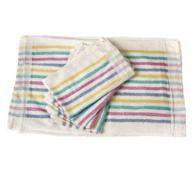 "Chef Revival 705MSK Cotton Terry Cloth Towel, 15 x 26"", Multi-Stripe"