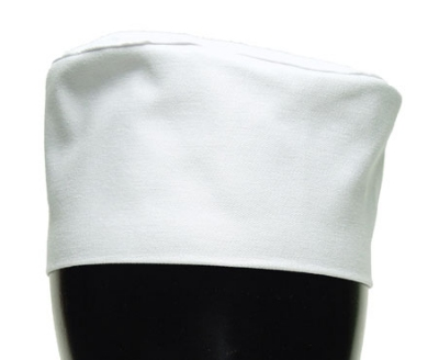 Chef Revival H002-R Chef Pill Box Hat, Regular, Poly Cotton Blend, White