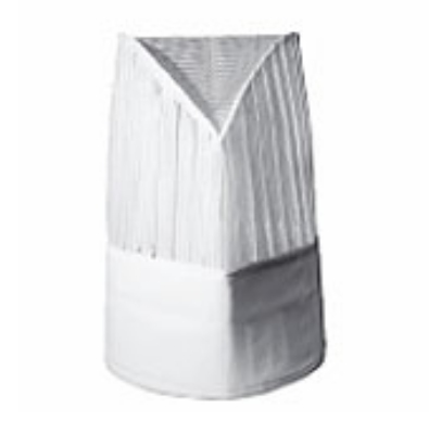 Chef Revival H026 Chef Hat, 11-in, Center Pleat, Adjustable Velcro