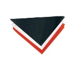 "Chef Revival H500NV Neckerchief, Poly Cotton Blend & Poplin, 33"", Navy"