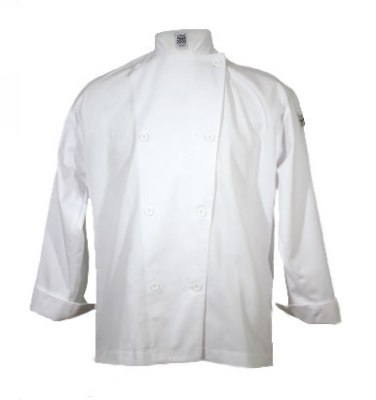 Chef Revival J002-XL Poly Cotton Traditional Chef Jacket, X-Large