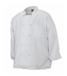 Chef Revival J100-L Twill Chef Coat, Double Breasted, Heat Resistant, Large