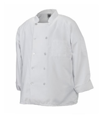 Chef Revival J100-M Twill Chef Coat, Double Breasted, Heat Resistant, Medium