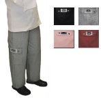 Chef Revival LP001HT-L Ladies Cotton Cargo Chef Pants, Large, Hounds Tooth