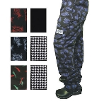 Chef Revival P002BK-5X Poly Cotton Chef Pants, 5X, Black
