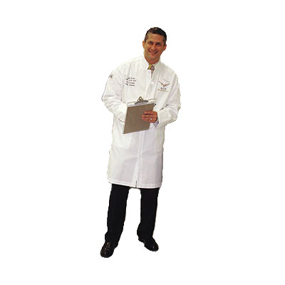 Chef Revival J034-M Poly Cotton Chef Tech Coat, Medium