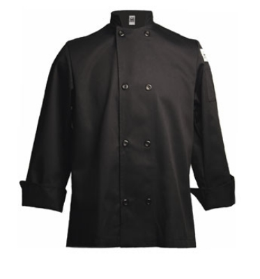 Chef Revival J061BK-S Traditional Chef's Jacket Size Small, Black