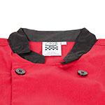 Chef Revival J134TM-S Chef's Jacket Size Small, 3/4-Sleeve, Tomato w/ Black Trim