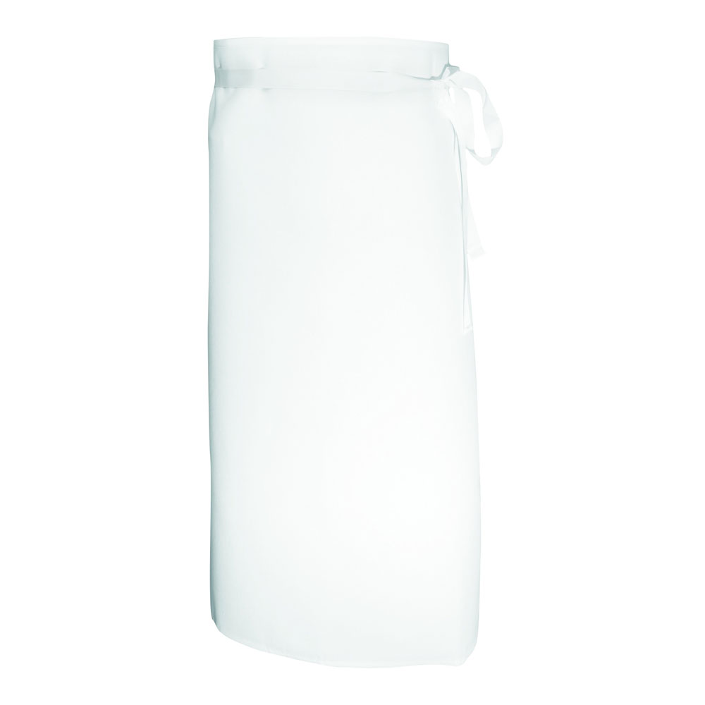 "Chef Revival 402WA Bistro Waist Apron, 2-Sided, 30 x 33"", White"