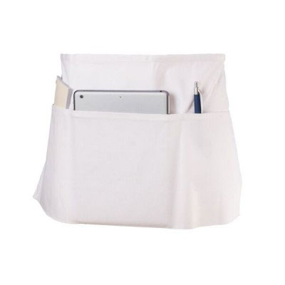 """Chef Revival 605WAFH-WH Waist Apron, Twill Blend, 12 x 24"""", 3-Pocket, White"""