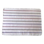"Chef Revival 703HB28 White Terry Cloth Towel w/ Multi-Colored Strips, 20"" x 28"""