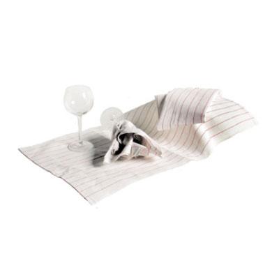 "Chef Revival 703HB Cotton Herringbone Towel, Heavyweight, 15 x 26"", Non-Linting"
