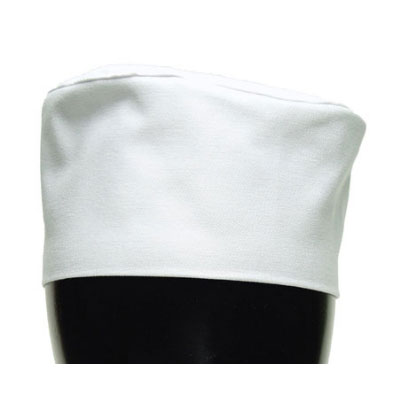 Chef Revival H002-XL Chef Pill Box Hat, X-Large, Poly Cotton Blend, White