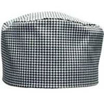 Chef Revival H009-R Chef Pill Box Hat, Regular, Poly Cotton Blend, Hounds Tooth