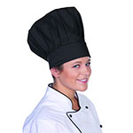 "Chef Revival H400BK Chef Hat, 13"", Heavyweight Poly/Cotton Blend, Adjustable, Black"