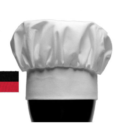 """Chef Revival H400WH Chef Hat, 13"""", Heavyweight Poplin Blend, Adjustable, White"""