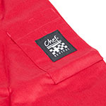 Chef Revival J134TM-L Chef's Jacket Size Large, 3/4-Sleeve, Tomato w/ Black Trim